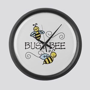 Busy Bees Large Wall Clock