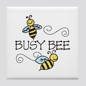 Busy Bees Tile Coaster