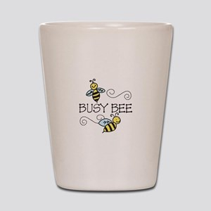 Busy Bees Shot Glass