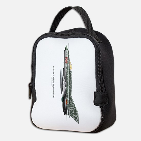 Mig-21mf Neoprene Lunch Bag
