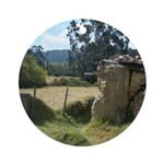 Crumbling Countryside Ornament (Round)