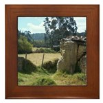 Crumbling Countryside Framed Tile