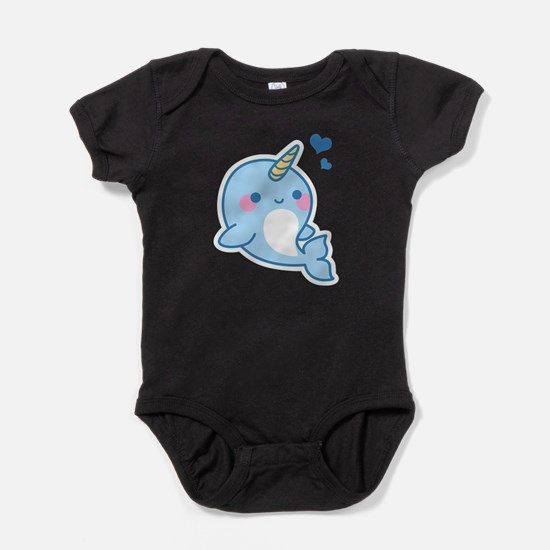 Cute Narwhal T-Shirt Body Suit