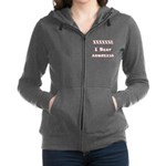 I conquered Anorexia Women's Zip Hoodie