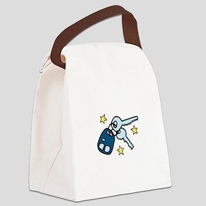 Car Keys Canvas Lunch Bag