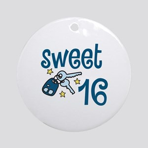 Sweet 16 Ornament (Round)