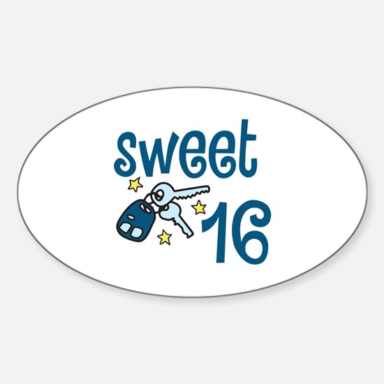 Sweet 16 Decal