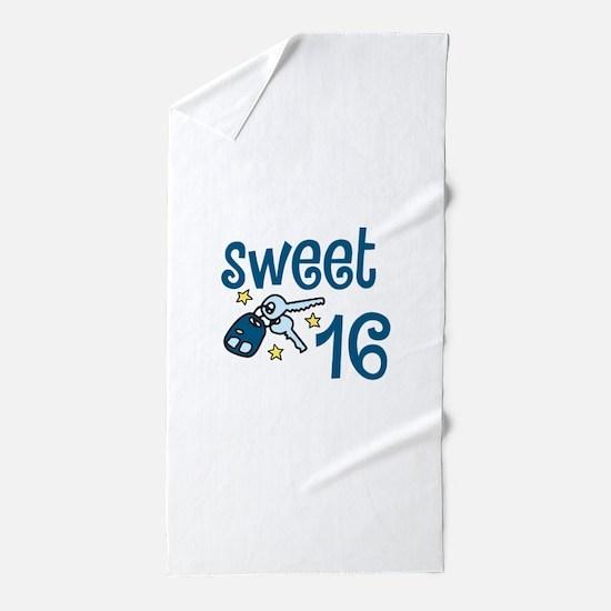 Sweet 16 Beach Towel