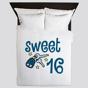 Sweet 16 Queen Duvet