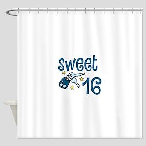 Sweet 16 Shower Curtain