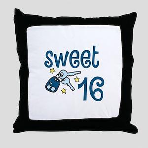 Sweet 16 Throw Pillow