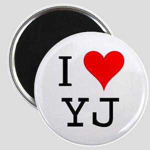 I Love YJ Magnet