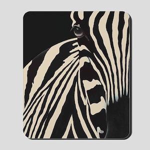 Beige Zebra Mousepad