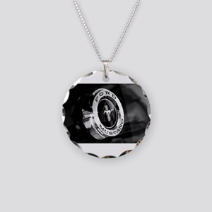 Ford Mustang Necklace Circle Charm