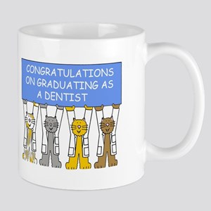 Congratulations on graduating as a dentist. Mugs