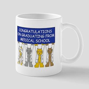Graduating from Medical School Congratulation Mugs