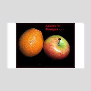 Apples 'N' Oranges Wall Decal