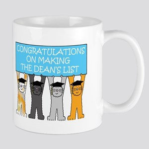 Congratulations on Making the Dean's List Mugs
