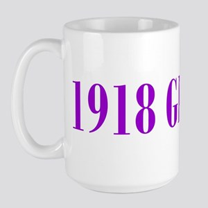 1918 Birthday Girl Large Mug