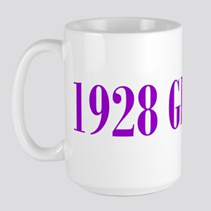 1928 Birthday Gifts Large Mug
