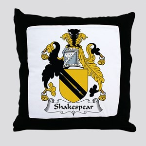 Shakespear Throw Pillow
