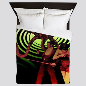 Monster. There's something in the cell Queen Duvet