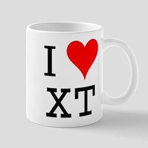 I Love XT Mug