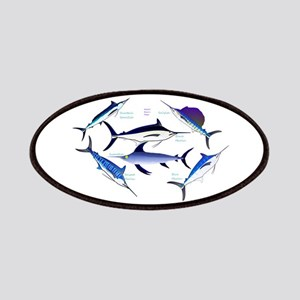 6 Billfish Patches
