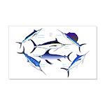 6 Billfish Wall Decal