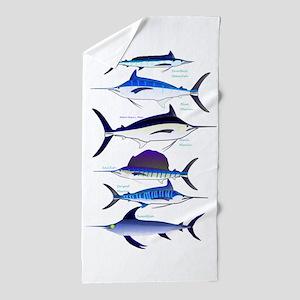 6 Billfish Beach Towel