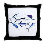 6 Billfish Throw Pillow