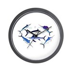 6 Billfish Wall Clock