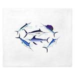 6 Billfish King Duvet