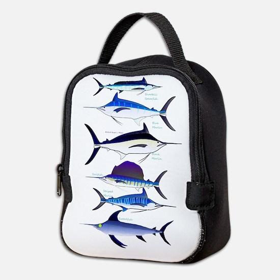 6 Billfish C Neoprene Lunch Bag