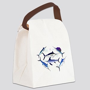 6 Billfish C Canvas Lunch Bag
