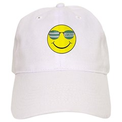 smiley with celtic shades Cap