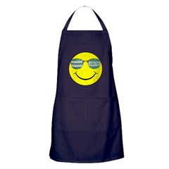 smiley with celtic shades Apron (dark)
