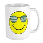 smiley with celtic shades Mugs