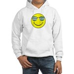 smiley with celtic shades Jumper Hoody