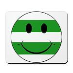 smiley hoops Mousepad