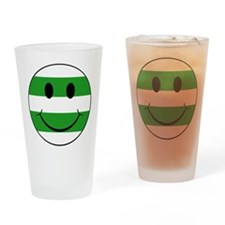 smiley hoops Drinking Glass