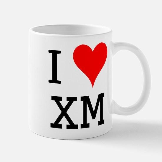 I Love XM Mug