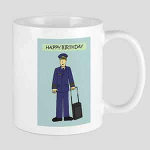 Happy Birthday to pilot Mugs
