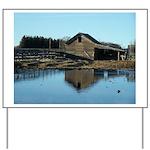 Barn Reflection Yard Sign