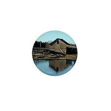 Barn Reflection Mini Button (100 pack)