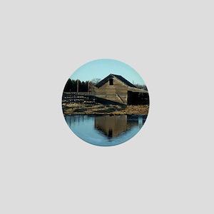 Barn Reflection Mini Button