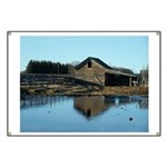 Barn Reflection Banner