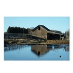Barn Reflection Postcards (Package of 8)