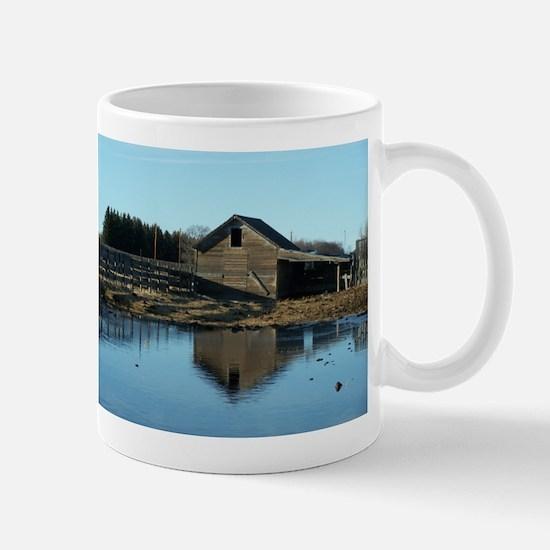 Barn Reflection Mugs
