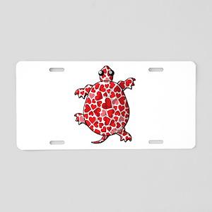 Valentine Aluminum License Plate